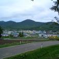 南富良野神社から望む駅
