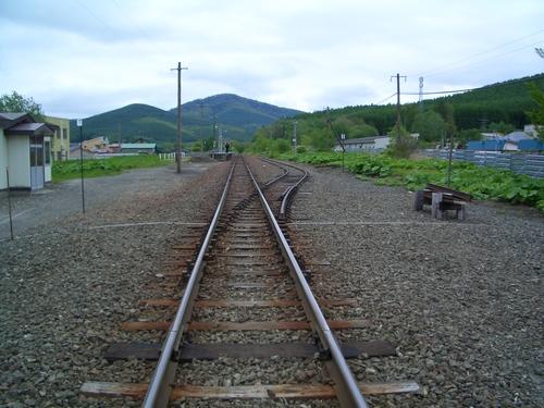 幾寅駅線路