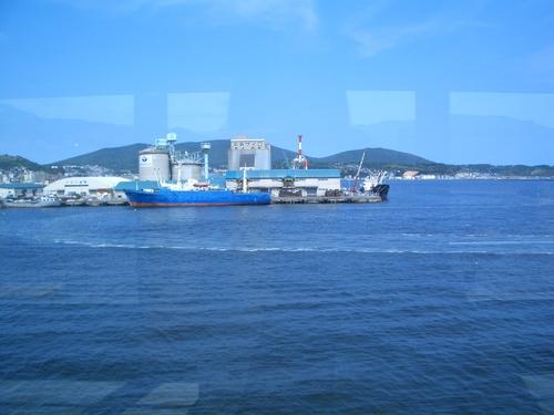 小樽港フェリーターミナル連絡路