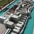 軍艦島の模型です。