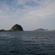 軍艦島近くの島