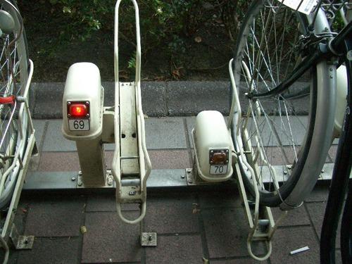 ほんとに駐車場みたい!