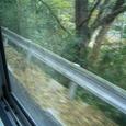 仁万駅から大森へ向かうバスの車窓