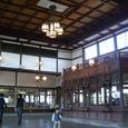 旧大社駅舎内